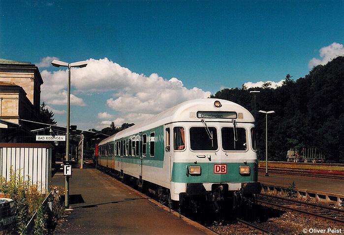 Historische Bilder vom Bahnhof Bad Kissingen