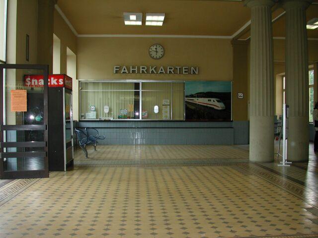 Bahnhof Bad Kissingen Mai 2002